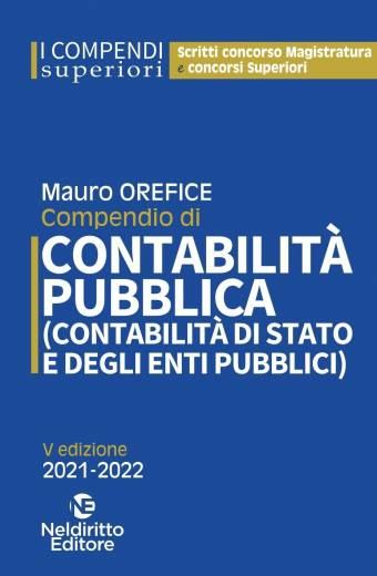 COMPENDIO CONTABILITà PUBBLICA OREFICE