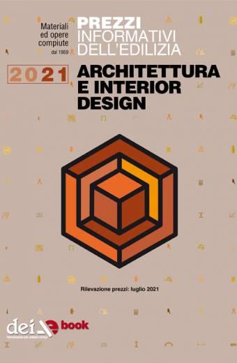 Prezzario Architettura e Interior Design 2021