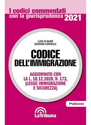 codice immigrazione 2021