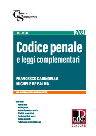 Codice Penale Concorso Magistratura 2021 DIKE