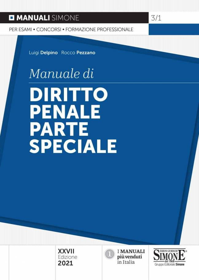 diritto penale parte speciale simone