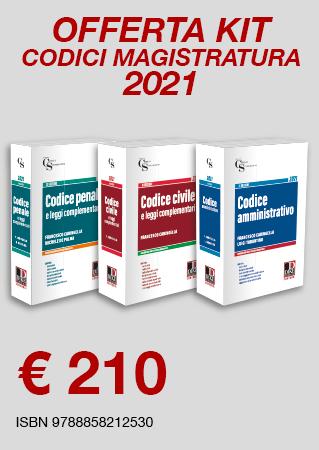Kit Codici Dike Concorso Magistratura 2021