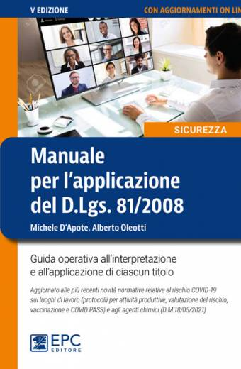 manuale per l'applicazione del D.Lgs. 81/2008