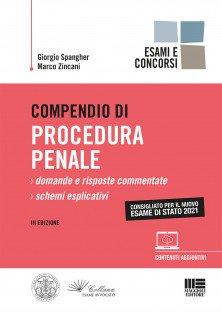 Compendio di procedura penale Scuola Zincani 2021
