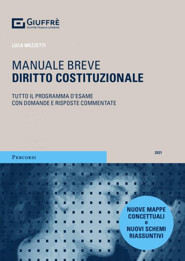 manuale breve diritto costituzionale 2021