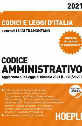 codice amministrativo 2021