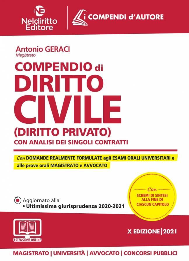 compendio diritto civile 2021