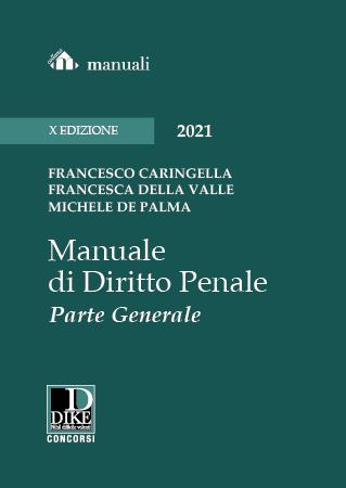 Manuale di diritto penale parte generale Caringella