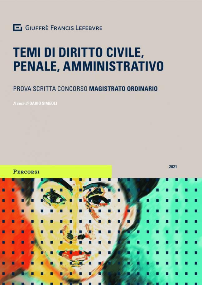temi civile penale amministrativo magistratura