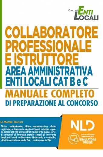 MANUALE Collaboratore Professionale E Istruttore Area Amministrativa Enti Locali