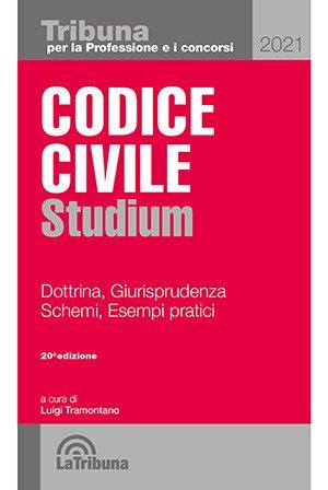 codice civile studium 2021