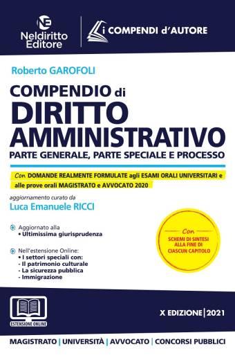 compendio di diritto amministrativo nel diritto