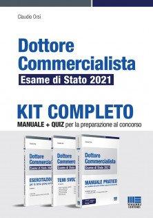 kit manuali esame commercialista 2021
