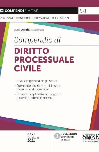 compendio di diritto processuale civile simone