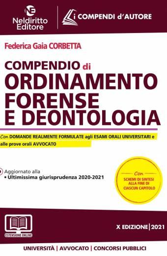 compendio di ordimento forenzse e deontologia neldiritto