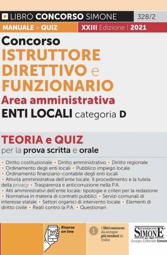 istruttore direttivo e funzionario area amministrativa enti locali categoria d