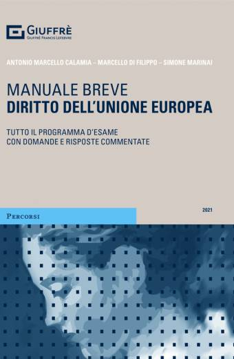 DIRITTO DELL'UNIONE EUROPEA Manuale breve