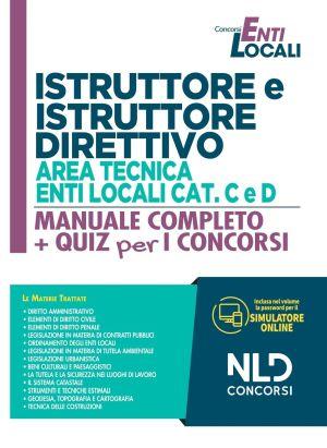 Istruttore e Istruttore Direttivo Area Tecnica Enti Locali cat. C e D - Manuale Completo + Quiz 2021