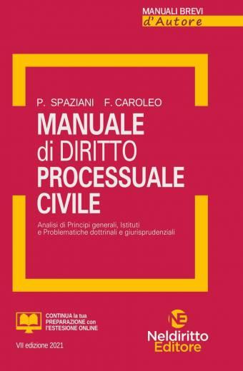 Manuale di diritto processuale civile Neldiritto