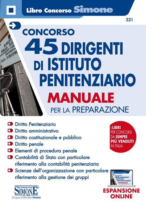 manuale concorso dirigenti penitenziari