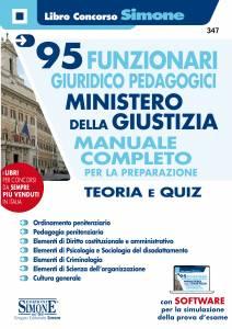 Concorso 95 Funzionari giuridico pedagogici