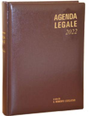 Agenda Legale Due Volumi Il Momento Legislativo Lusso Marrone 2022