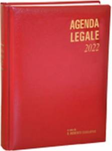 Agenda Legale Due volumi Il Momento Legislativo Rossa 2022