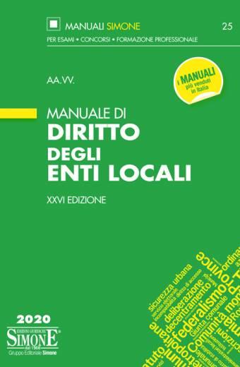 Manuale di Diritto degli Enti Locali 2020