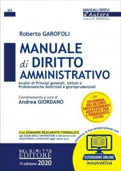 Manuale di diritto amministrativo 2020 Nel Diritto