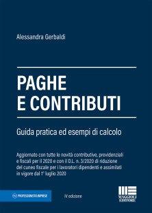 Paghe e contributi 2020 Maggioli