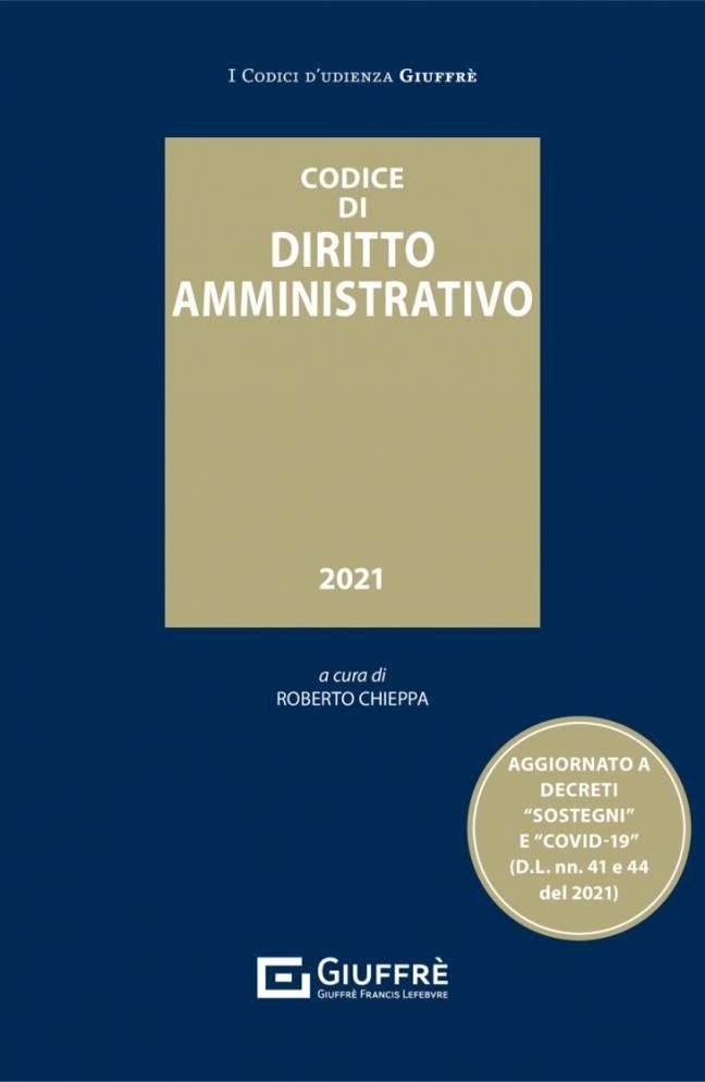 Codice di Diritto Amministrativo 2021 Giuffrè