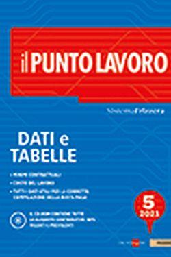 il punto lavoro dati e tabelle