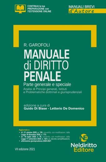 manuale di diritto penale garofoli