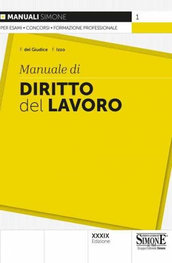 manuale di diritto del lavoro simone
