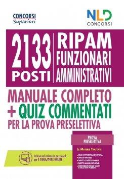 manuale concorso 2133 funzionari ripam