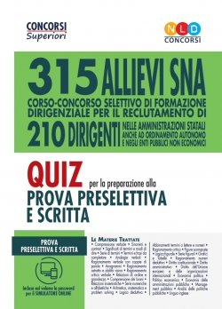 315 allievi dirigenti sna quiz