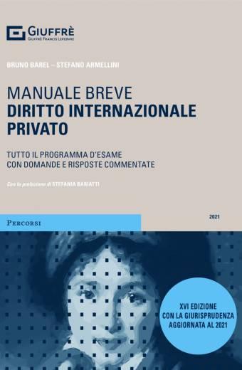 MANUALE BREVE DIRITTO INTERNAZIONALE PRIVATO