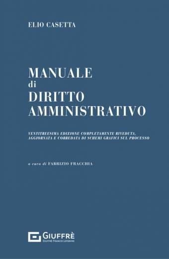 Manuale di Diritto Amministrativo Casetta 2021