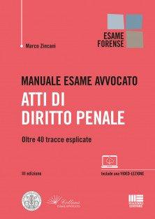Manuale same avvocato - Atti di Diritto penale 2020 Zincani
