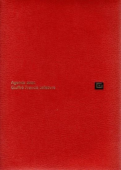 agenda legale + udienza 2021 giuffrè arancione