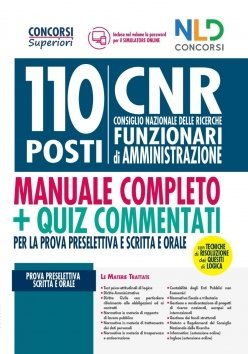 concorso 110 posti CNR NLD
