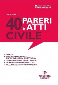 40 atti pareri civile neldiritto