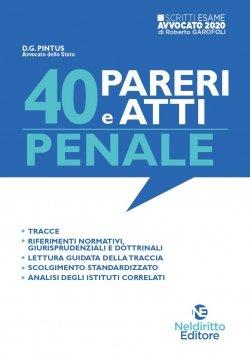 40 atti penale neldiritto