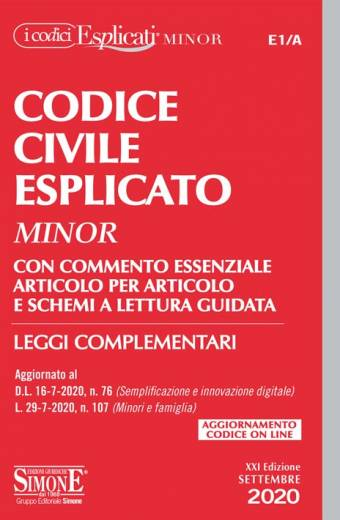 civile esplicato minor 2020 simone