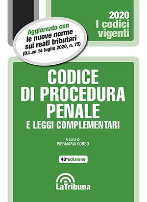 Codice di Procedura Penale Vigente
