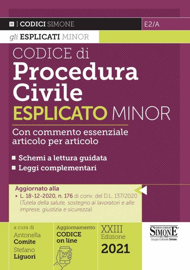 codice di procedura civile esplicato minor