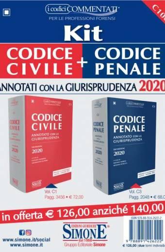 kit codice civile e penale simone esame avvocato 2020