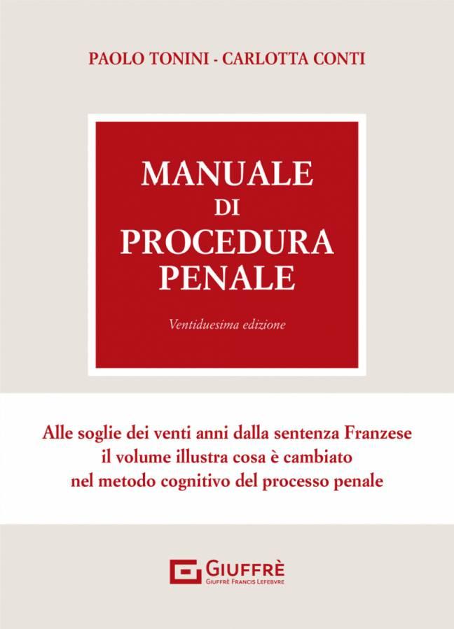 manuale di procedura penale tonini 2021