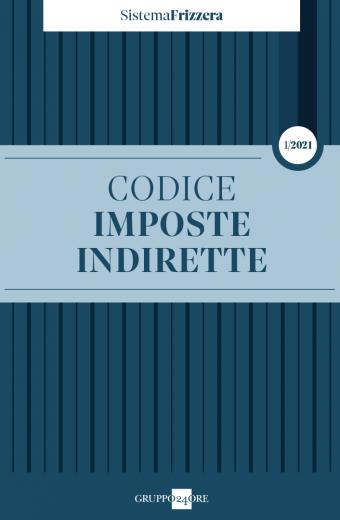 CODICE IMPOSTE INDIRETTE 2021