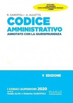 codice amministrativo annotato con giurisprudenza